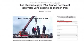 La petizione su change.org lanciata dagli steward gay di Air France