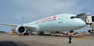 Il Boeing 787-9 Dreamliner di Air Canada