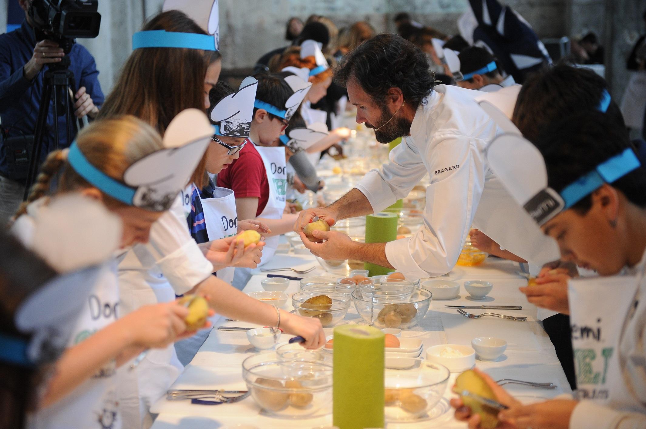 Su msc arriva doremi chef il corso di cucina di carlo cracco dedicato ai pi piccoli webitmag - Corsi cucina milano cracco ...