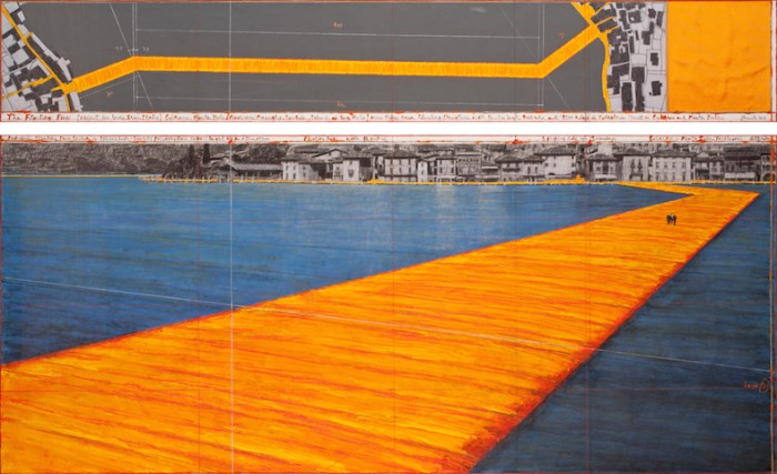 Il progetto di The Floating Piers di Christo