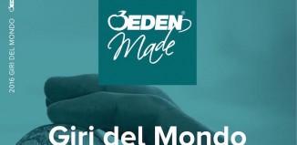 Online il catalogo Eden Made 2016 interamente dedicato ai Giri del Mondo