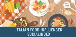 Italian Food Influencer SocialIndex