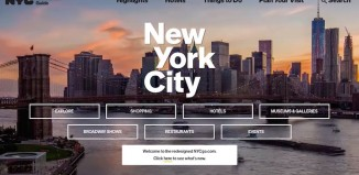 La nuova veste del sito di NYC & Company