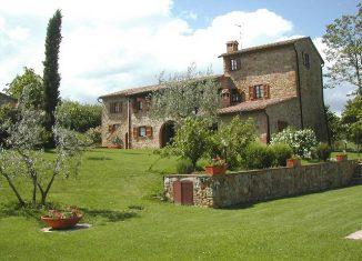 Un agriturismo in Emilia-Romagna.
