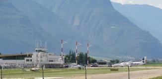 Aeroporto di Bolzano.