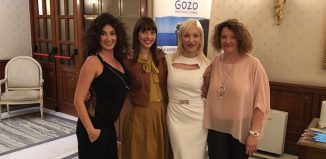 Da sinistra: Paola Saccucci - sales and customer relations King Holidays; Maya Francione - marketing and communication executive Malta Tourism Authority; Barbara Cipolloni - product manager King Holidays; Claudia Schiavoni - sales King Holidays