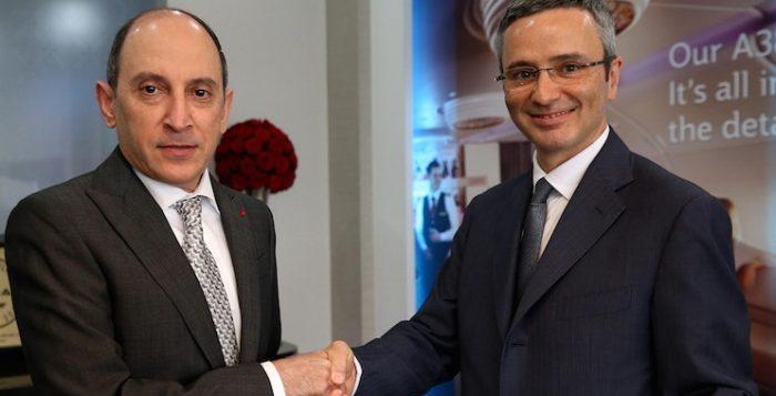 Siglato l'accordo fra Qatar Airways e Meridiana