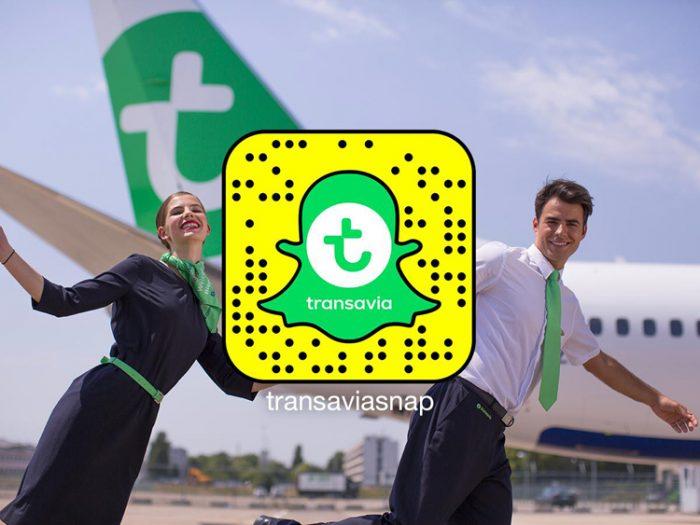 Transavia Snapchat