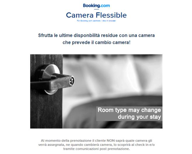 flexible room booking