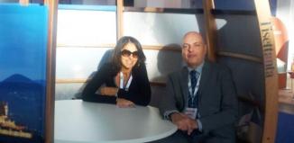 Marco Meneghetti e Anna D'Oriano, titolari di Combotour