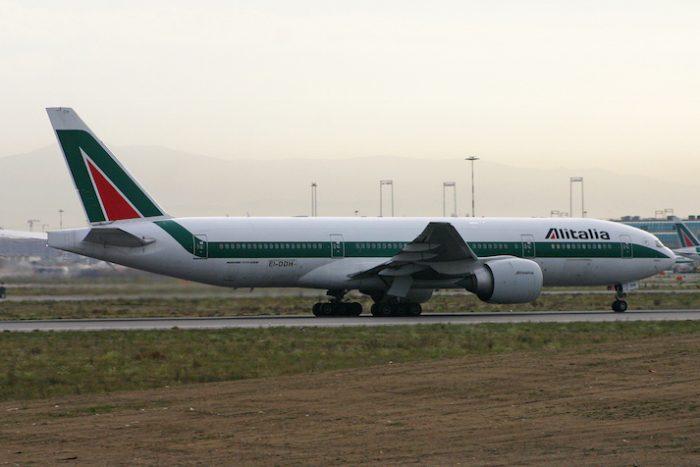 Il B777 Alitalia