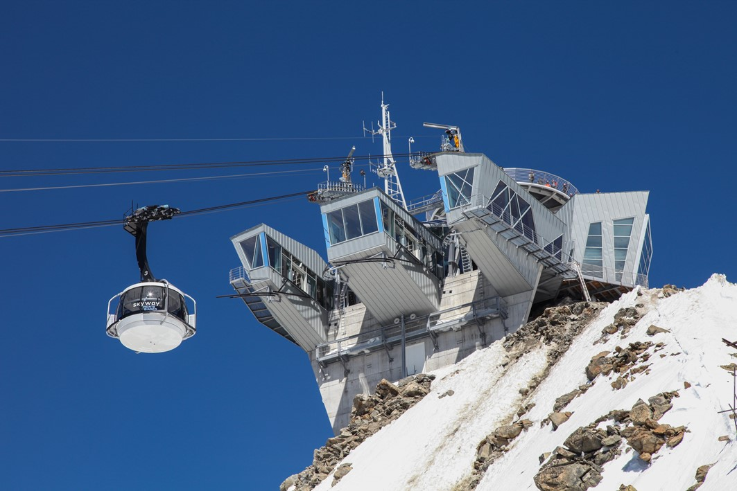 valle daosta skyway monte bianco