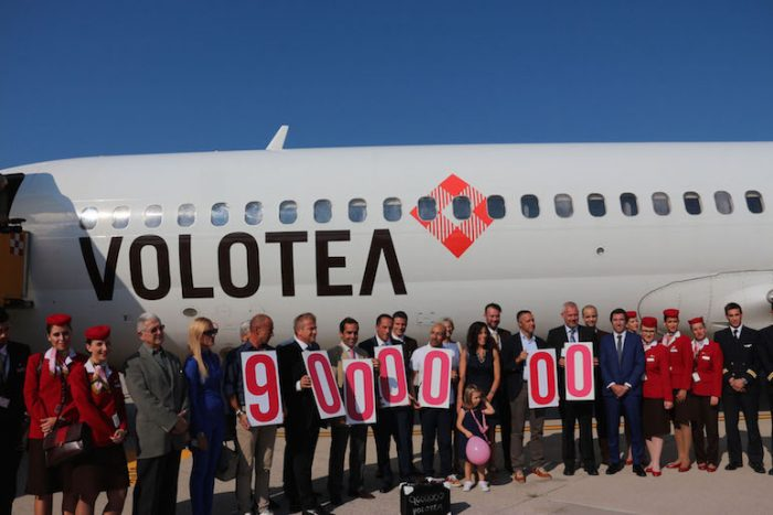 Volotea festeggia a Verona il 9milionesimo passeggero