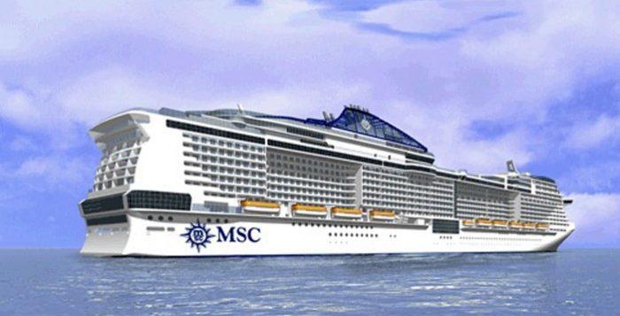 La MSC Meraviglia