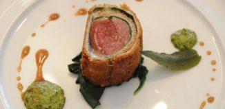 Un piatto del ristorante Don Alfonso 1890, eletto miglior ristorante di lusso in Italia dagli utenti di TripAdvisor