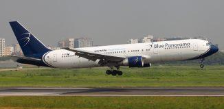 Un Boeing 767 di Blue Panorama. Credits: Faisal Akram su Flickr.com
