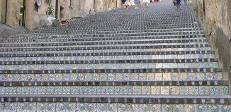 Scalinata di Santa Maria del Monte a Caltagirone