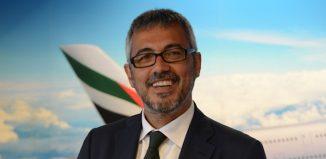 Fabio Maria Lazzerini, Country Manager di Emirates in Italia
