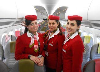 Un equipaggio Volotea