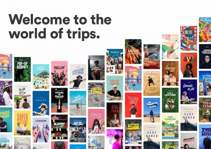 Airbnb lancia Trips