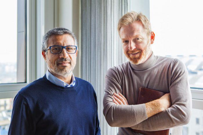Da sinistra Vincenzo Cella e Alberto Melgrati di Halldis
