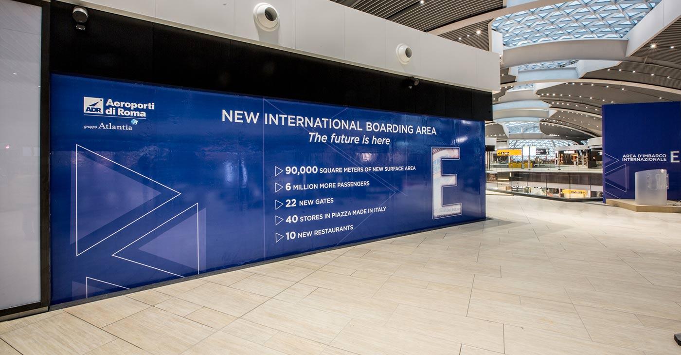 Aeroporto Fiumicino: ADR inaugura la nuova area d'imbarco