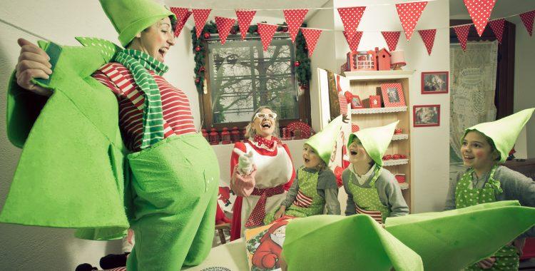 Accademia degli Elfi alla Casa di Babbo Natale di Riva del Garda. Foto di Eleonora Raggi