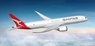 Il Dreamliner di Qantas