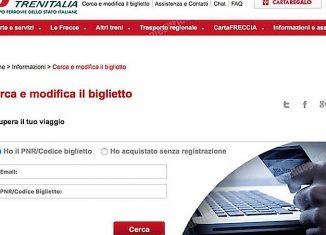 Biglietto elettronico più flessibile per Trenitalia Regionale