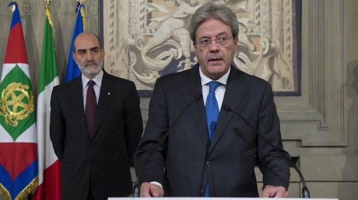 Paolo Gentiloni, nuovo presidente del consiglio. Foto: Presidenza della Repubblica