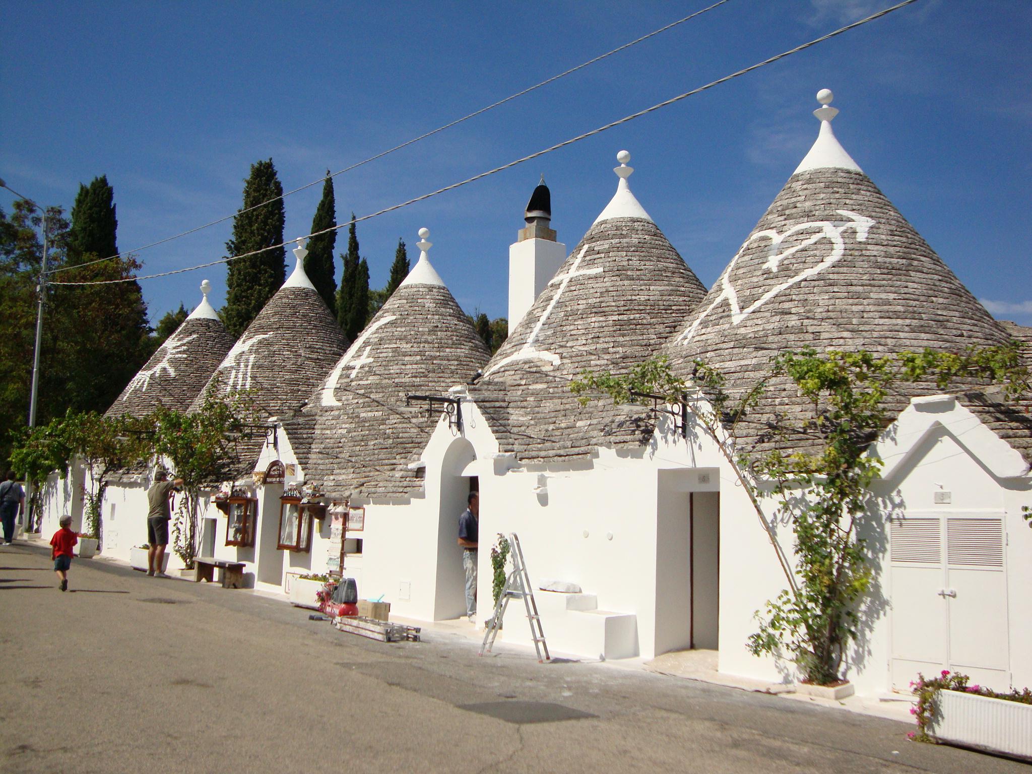 Trulli Alberobello fonte: wikipedia