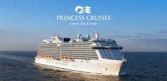 Una nave della flotta Princess Cruises