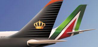 Alitalia Royal Jordanian