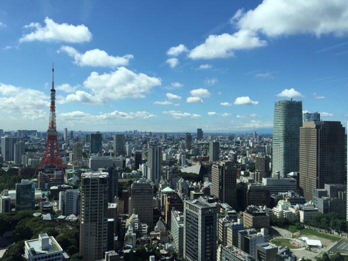Giappone, una veduta di Tokyo