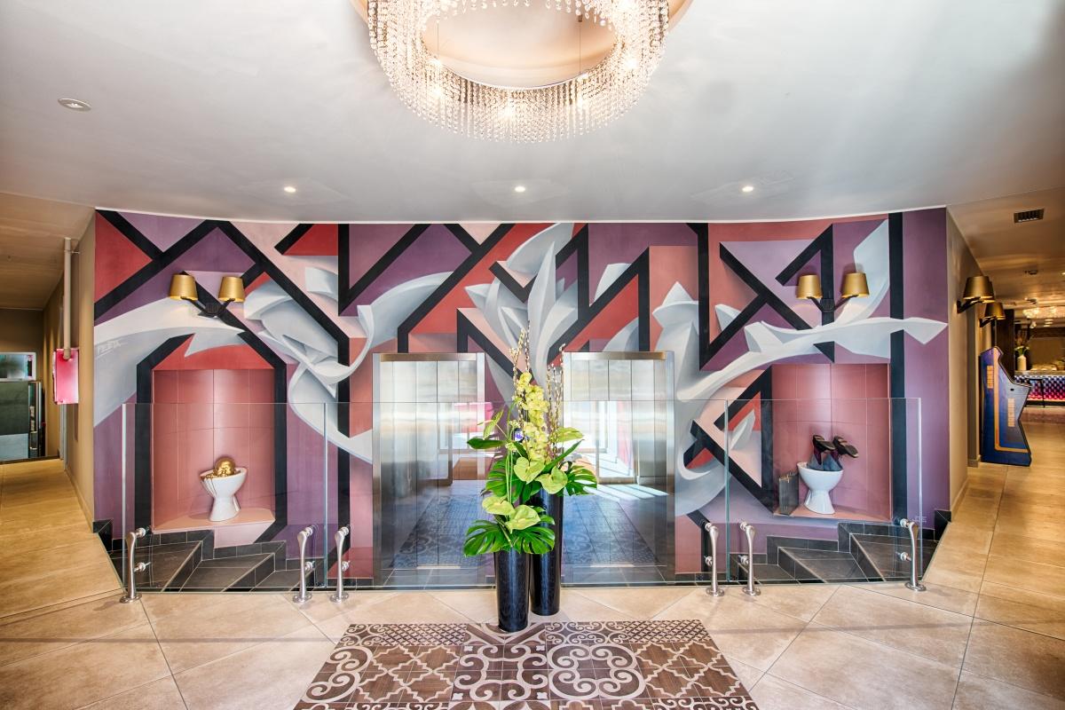 Lobby Nyx Milano - Credits: © Leonardo Hotels