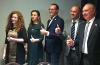 Il team Allegroitalia. Al centro il presidente Piergiorgio Mangialardi