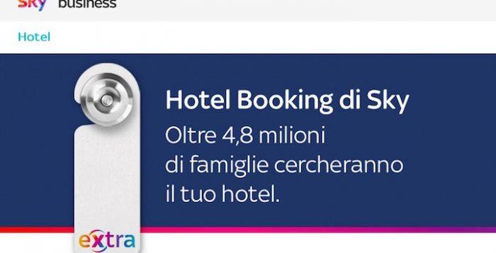 Hotel Booking di Sky