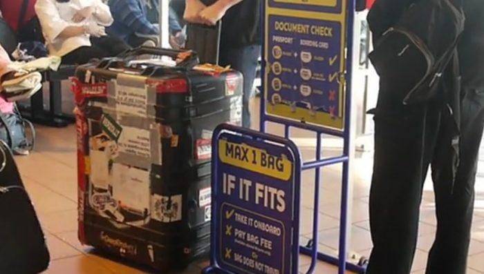 ryanair misure bagaglio a mano
