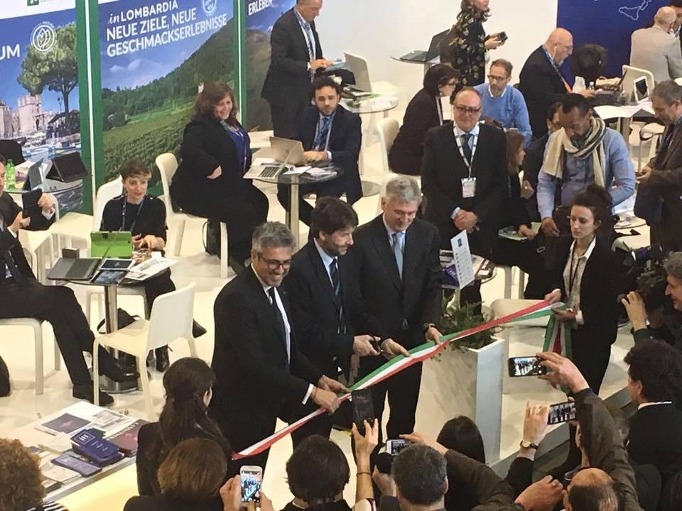 Il Ministro Franceschini inaugura l'ITB Fiera Di Berlino