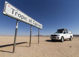 Il Tropico del Capricorno in Namibia - foto di Luke Price su Flickr.com