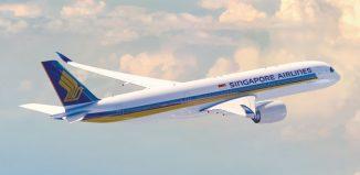 L'A350 di Singapore Airlines