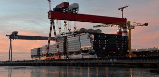 Symphony of te Seas in costruzione nei antieri STX France