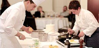 SINA Chefs' Cup Contest: nella foto Paolo Cappuccio e Maria Probst