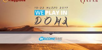 "mega Fam Trip Welcome Travel ""We Play in Doha"""