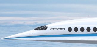 Il jet supersonico Boom