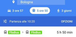 Flixbus, integrazione con Google Maps