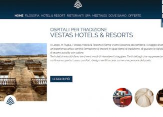 Sito rinnovato per Vestas Hotels & Resorts
