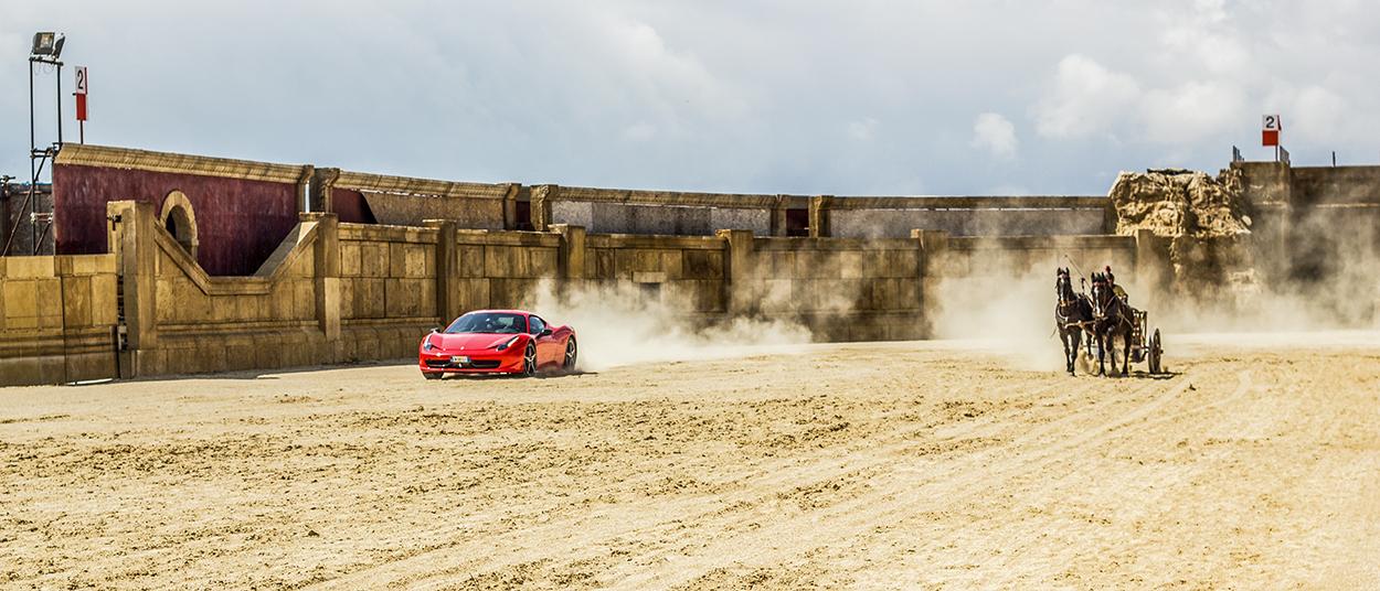 Ferrari contro biga