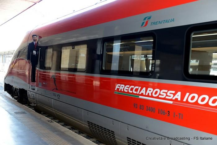 Entro il 2017 Roma-Milano in 140 minuti con Frecciarossa 1000