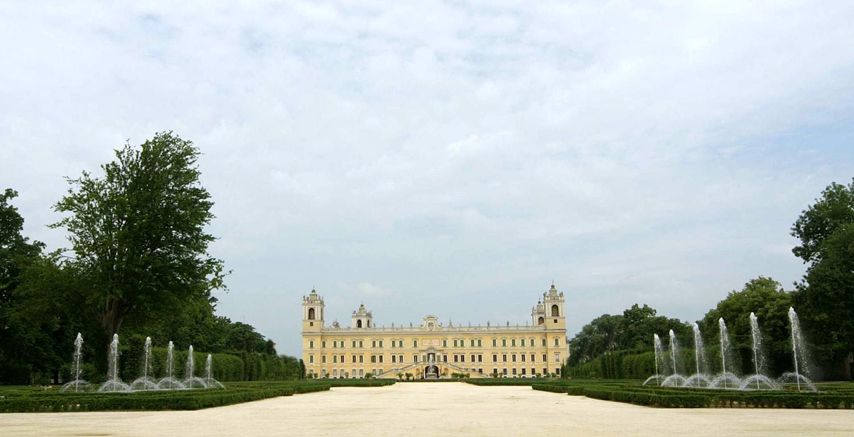 Giardini della Reggia di Colorno (Emilia Romagna)